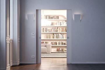 Porte scorrevoli a scomparsa e punti luce: quali sono i limiti?