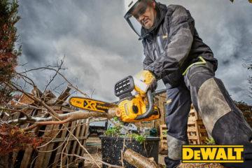 Utensili a batteria DeWalt per il giardinaggio