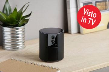Videocamera di sorveglianza Somfy One per la sicurezza di casa