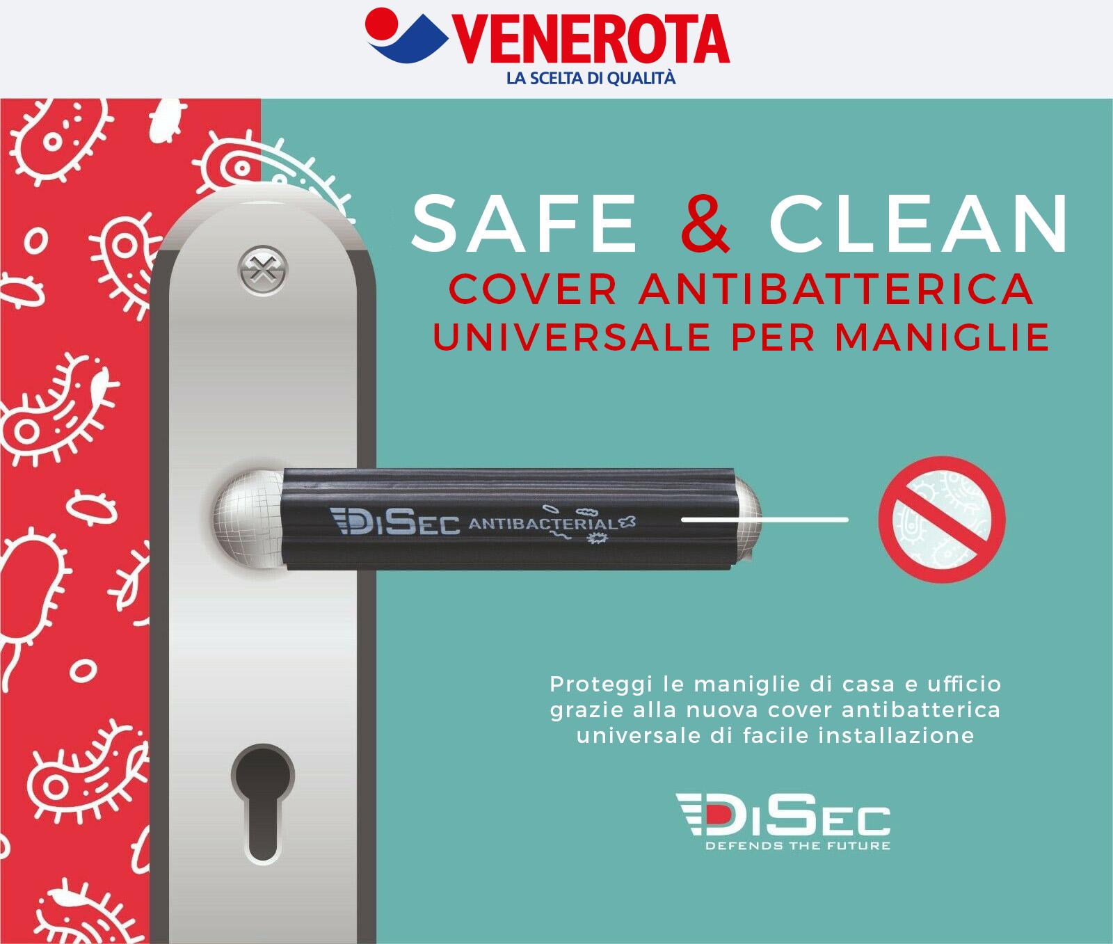DISEC cover maniglia antibatterica